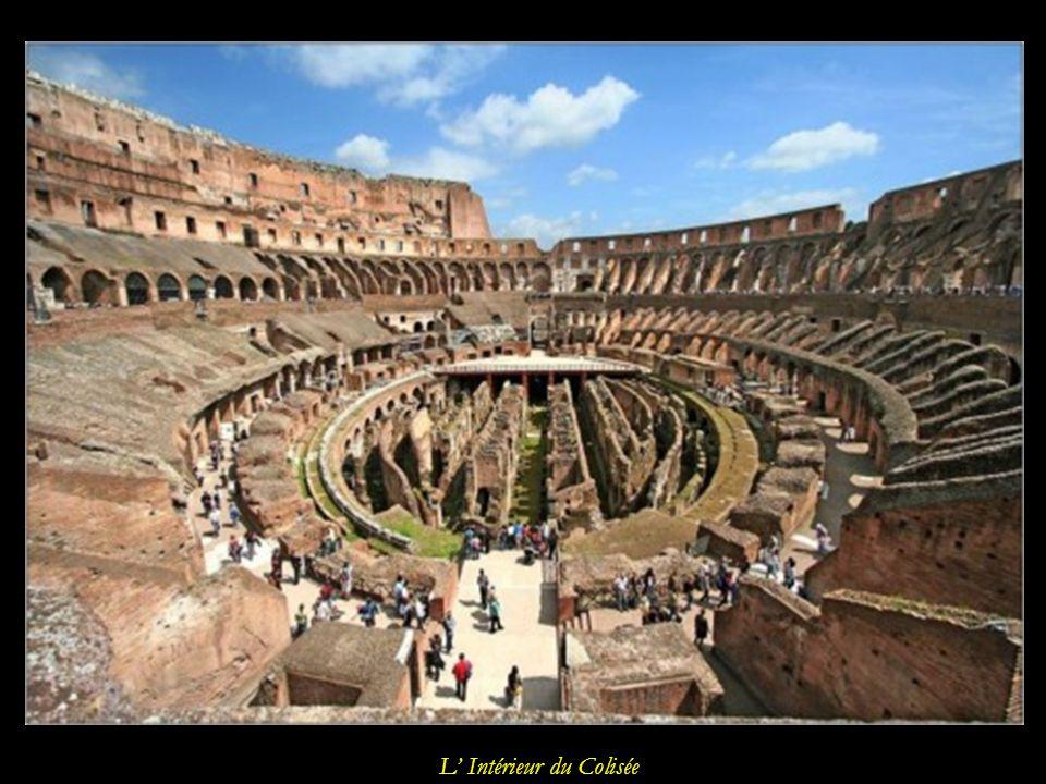 L Intérieur du Colisée