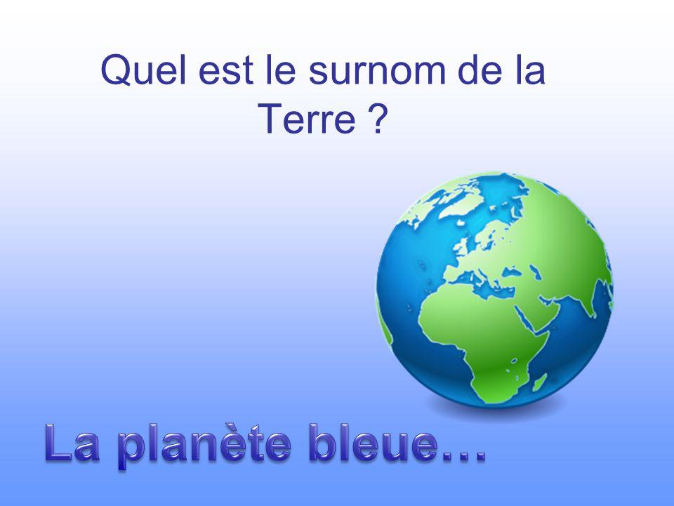 Les différentes représentations de la Terre