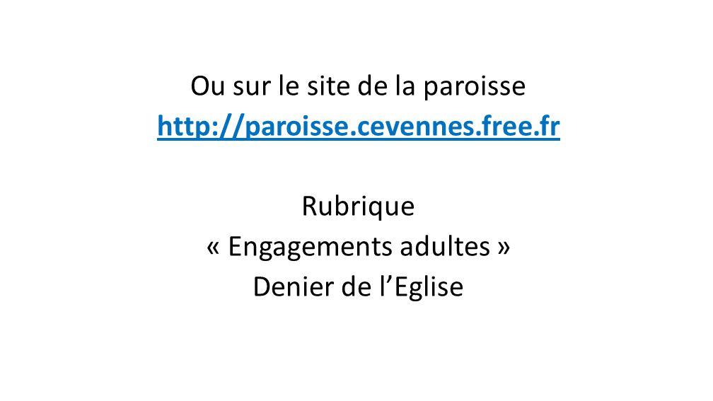 Information Vous pouvez retrouver toutes ces informations sur le site http://denier-eglise-pohttp://denier-eglise-porte descevennes.eklablog.fr/ Vous y trouverez réponses à toutes vos questions