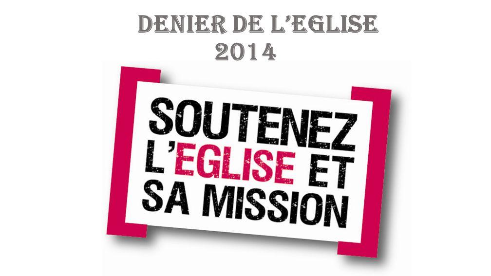Lancement de la campagne en paroisse Dimanche 6 Avril 2014 Dimanche 13 Avril 2014