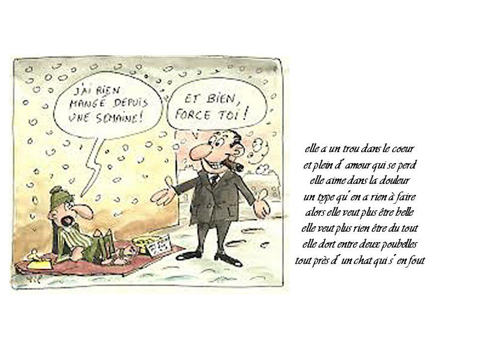 Travailleurs pauvres Les sans-abri ne sont pas nécessairement chômeurs, certains travaillent (parfois même pour la Mairie de Paris en tant que fonctionnaires titulaires).