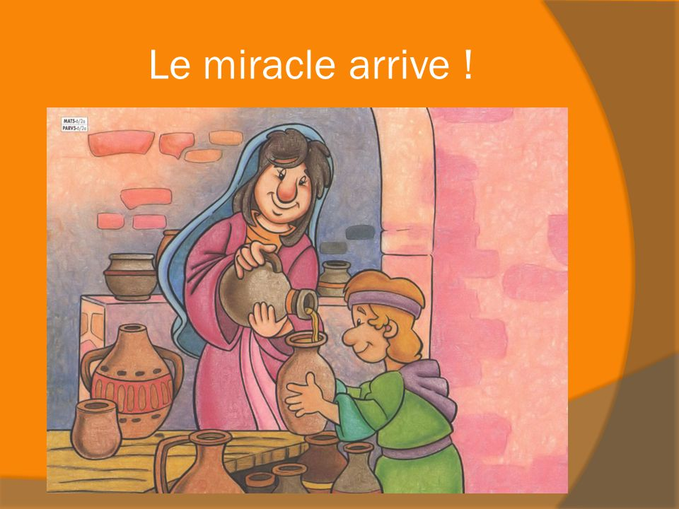 Le miracle arrive !
