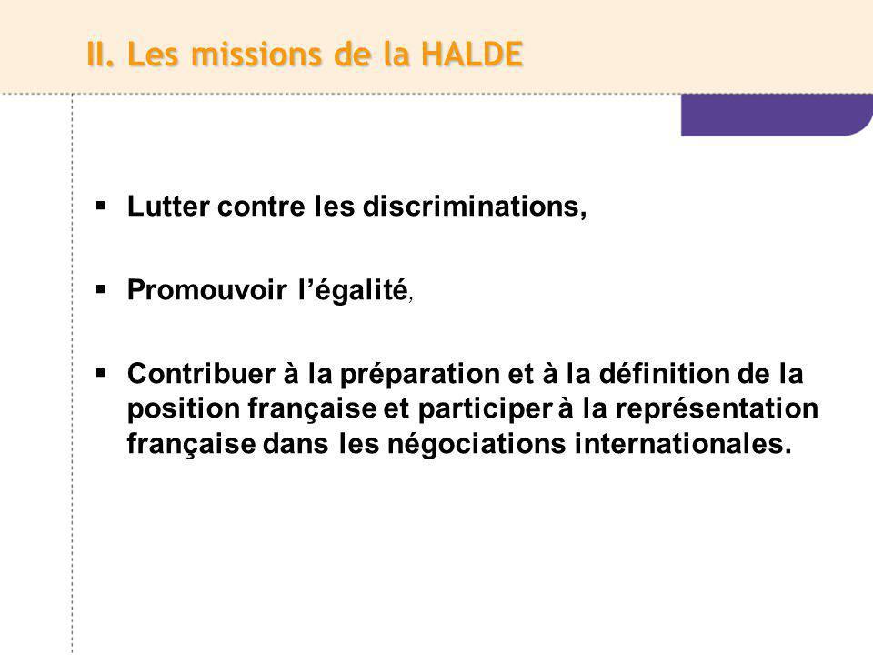 Et la haute autorité est compétente pour : connaître de toutes les discriminations, directes ou indirectes, prohibées par la loi ou un engagement international auquel la France est partie.