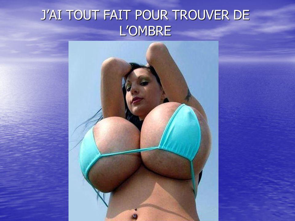 JAI TOUT FAIT POUR TROUVER DE LOMBRE