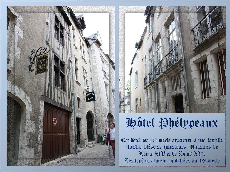 Blois et ses escaliers