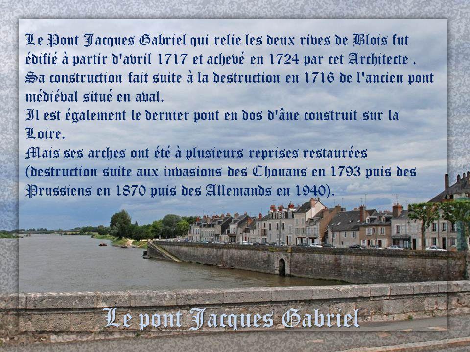 Le pont Jacques Gabriel