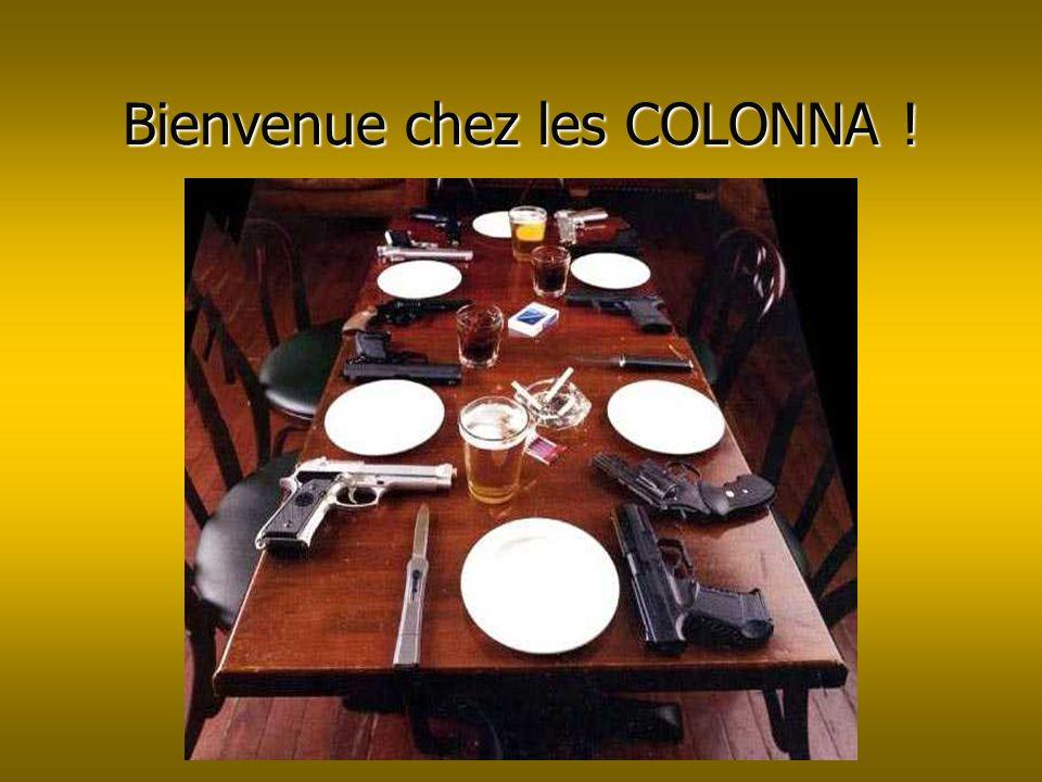 Bienvenue chez les COLONNA !