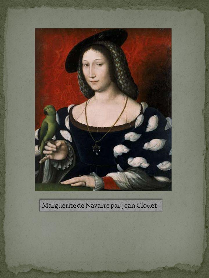 Marguerite de Navarre par Jean Clouet