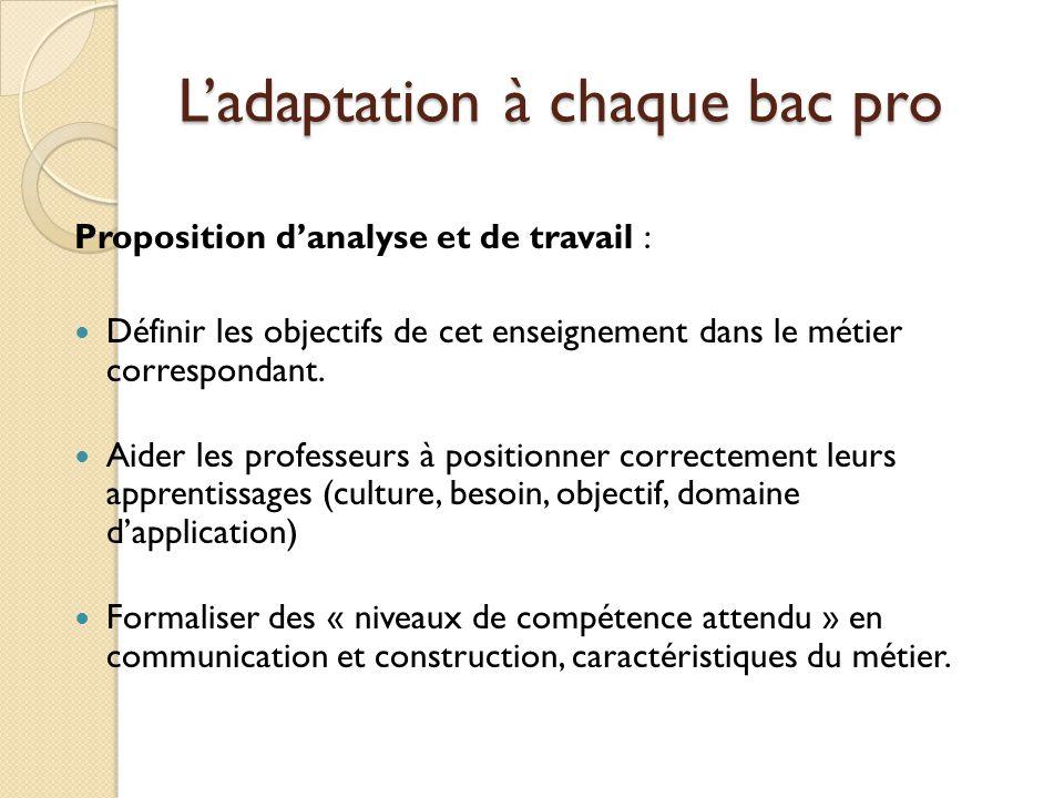 4 critères de positionnement 1.Compétences de représentation : en lecture et en écriture 2.