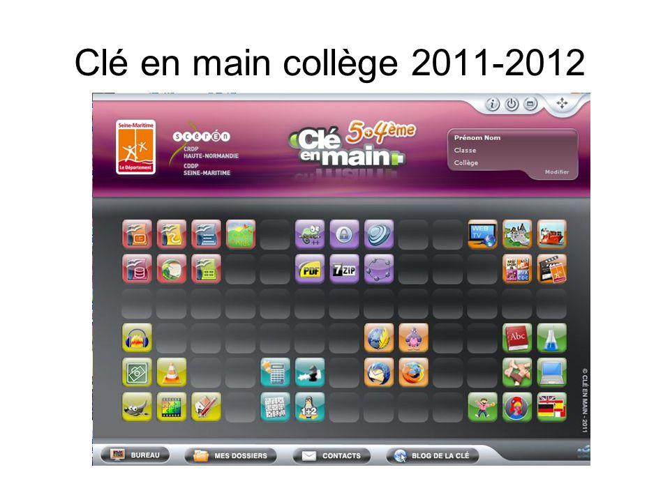 Clé en main collège 2011-2012
