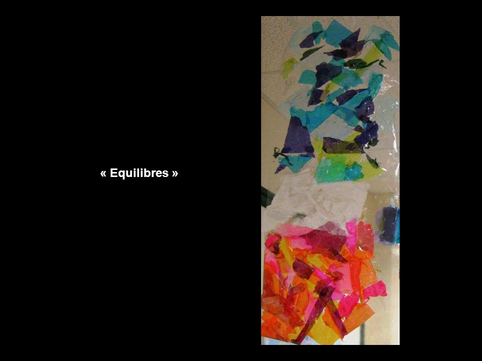 « Equilibres »