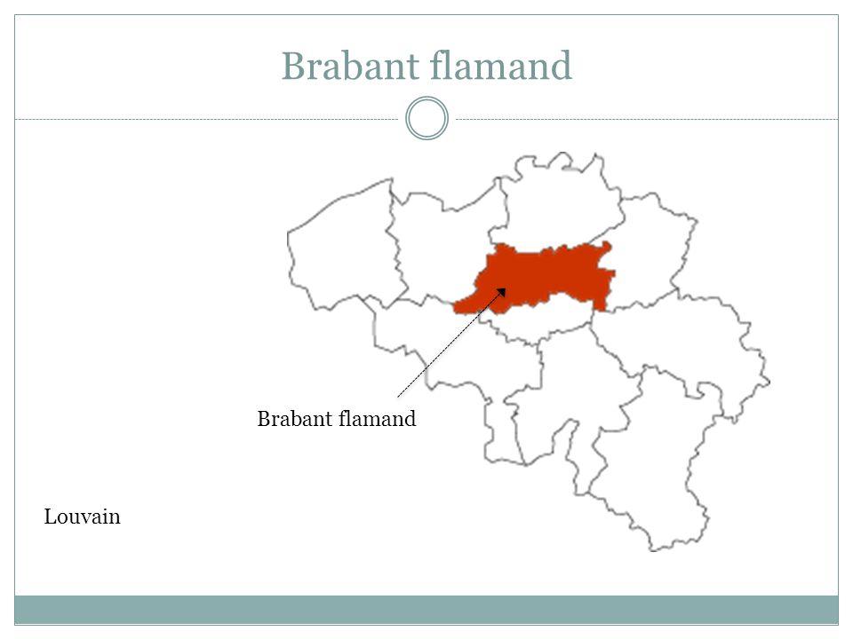 Brabant flamand Louvain Brabant flamand