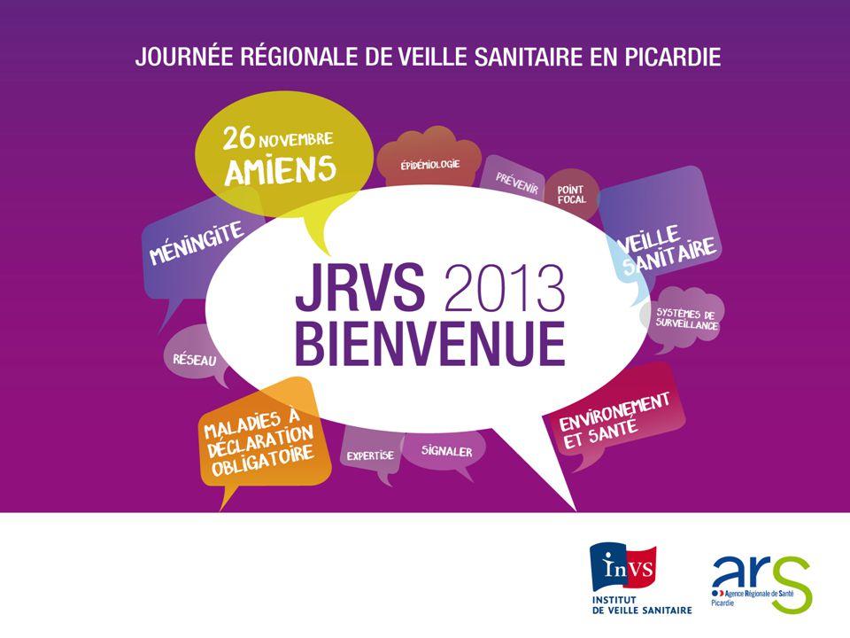 La veille et lalerte sanitaire en France et en Picardie Principes Rôle et missions de lInstitut de veille sanitaire et des ARS Dr Pascal Chaud Institut de Veille Sanitaire