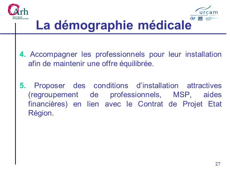 27 La démographie médicale 4.