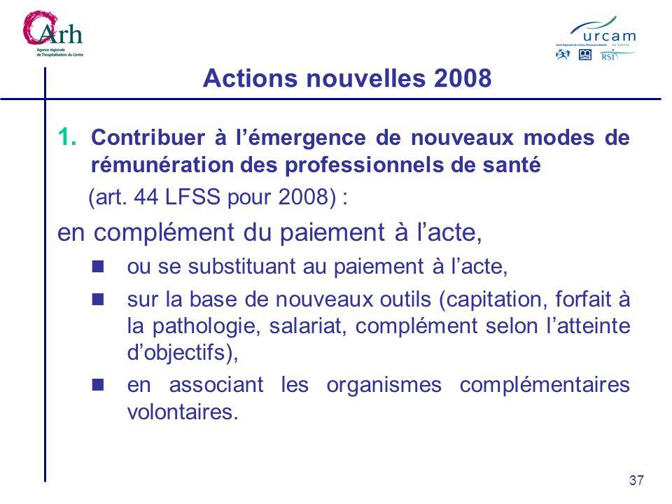 37 Actions nouvelles 2008 1.