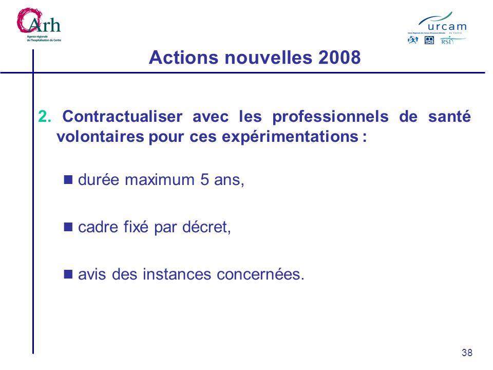 38 Actions nouvelles 2008 2.