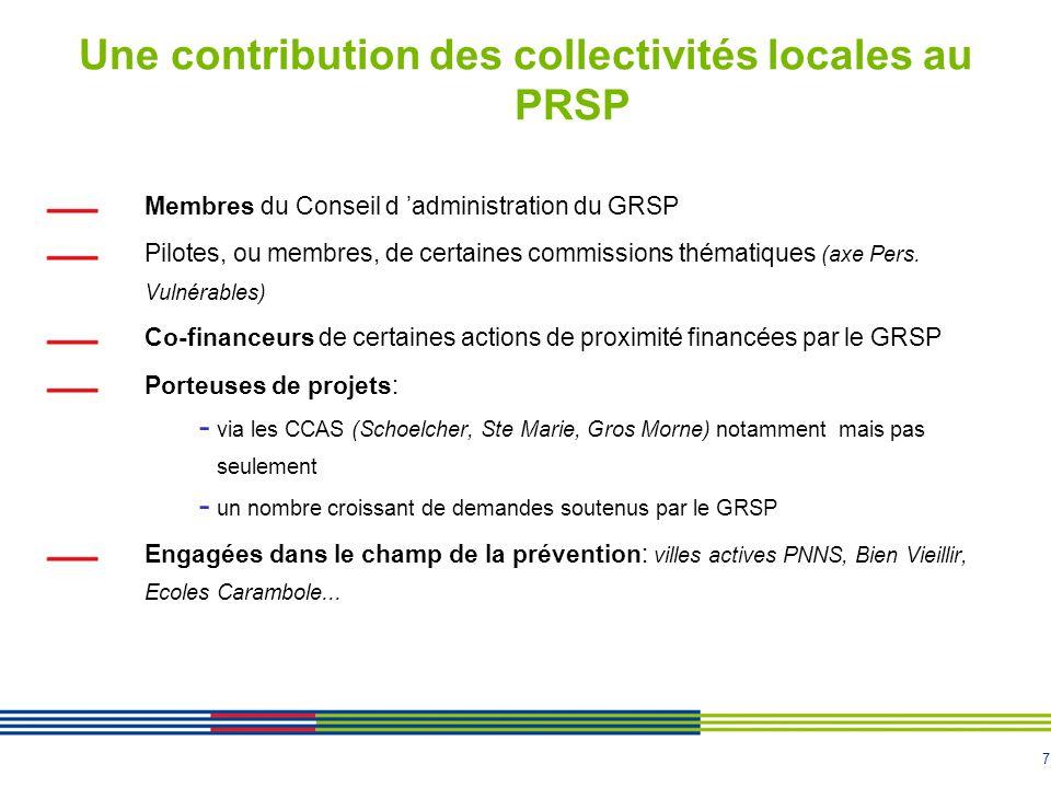 8 L Appel à projets GRSP: guichet unique Bilan de l Appel à projets 2009