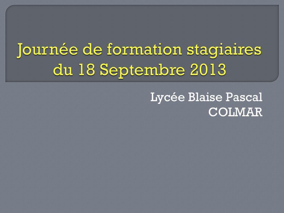 Lycée Blaise Pascal COLMAR