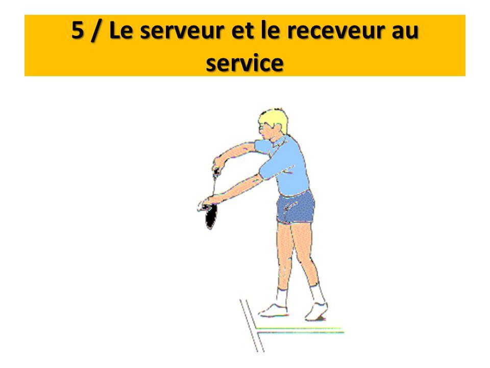 5 / Le serveur et le receveur au service