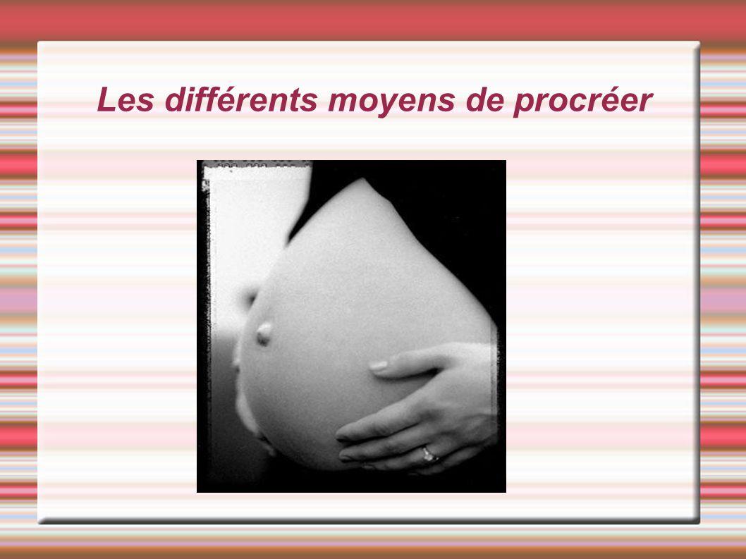 La procréation naturelle C est la seule procréation qui se fait sans aide médicale.