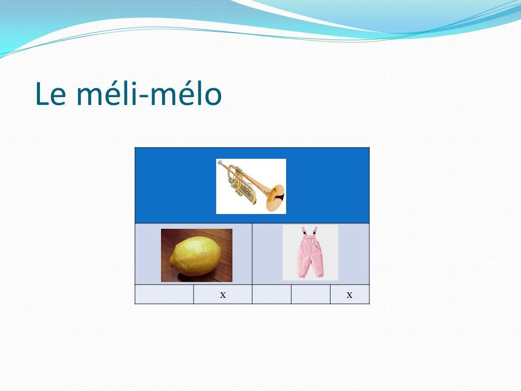 Le méli-mélo xx