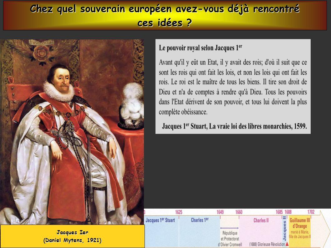 Charles Ier, roi dAngleterre ( 1600-1649 ) ( Tableau de Hendryk Pot, 27 *33 cm, musée du Louvre, Paris ) Charles Ier a la volonté de passer outre le Parlement.
