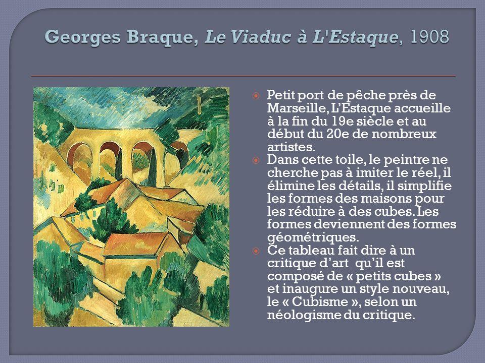Réalisée elle aussi à LEstaque, cette peinture na presque plus rien dun paysage singulier.
