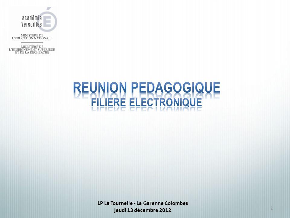 1 LP La Tournelle - La Garenne Colombes jeudi 13 décembre 2012