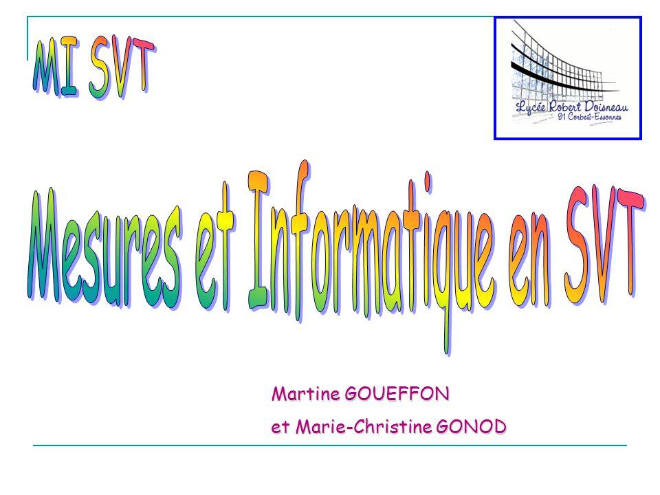 Martine GOUEFFON et Marie-Christine GONOD