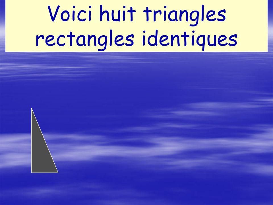 Appelons c la longueur de lhypoténuse a a la longueur du plus petit côté du triangle Et b la longueur du 3°côté du triangle b c
