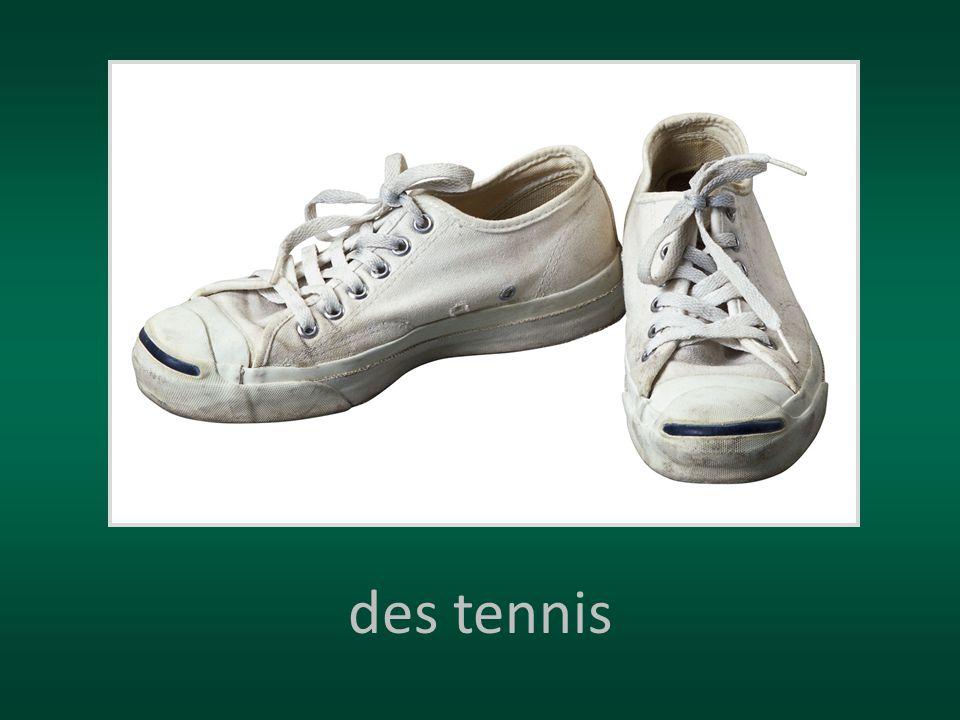 des tennis