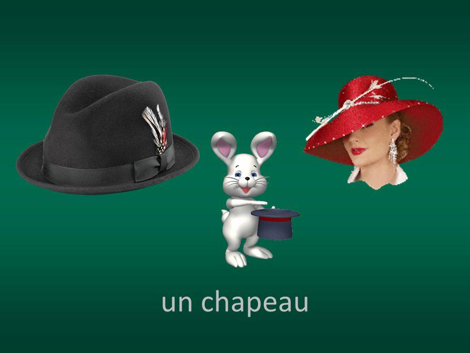 un chapeau