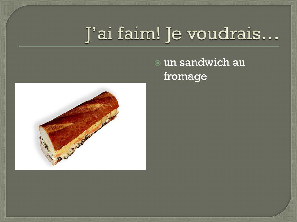 un sandwich au fromage