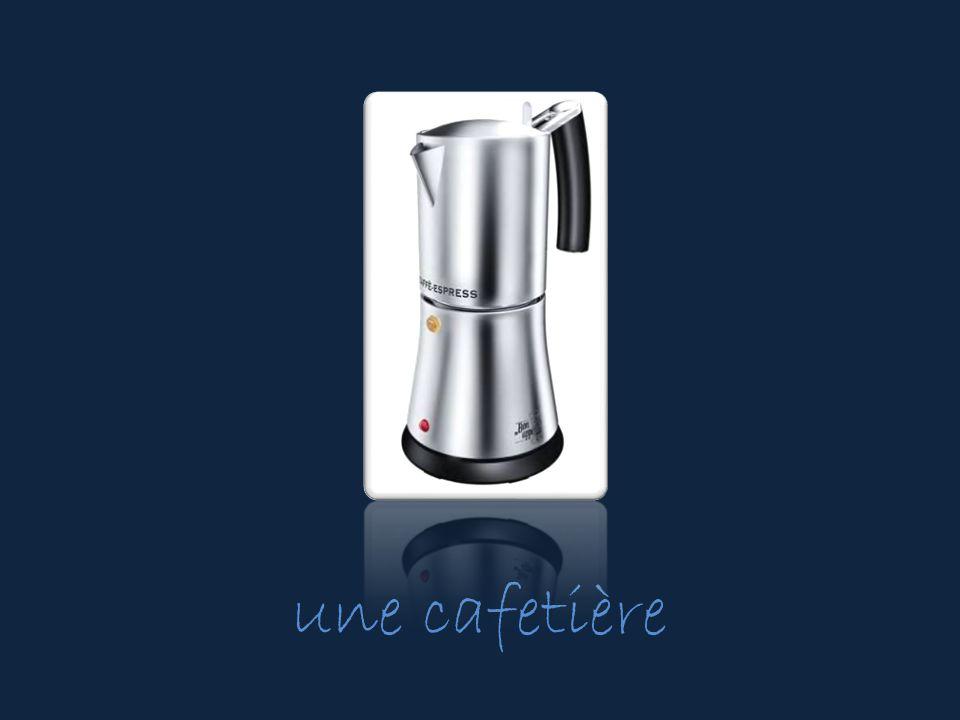 une cafetière