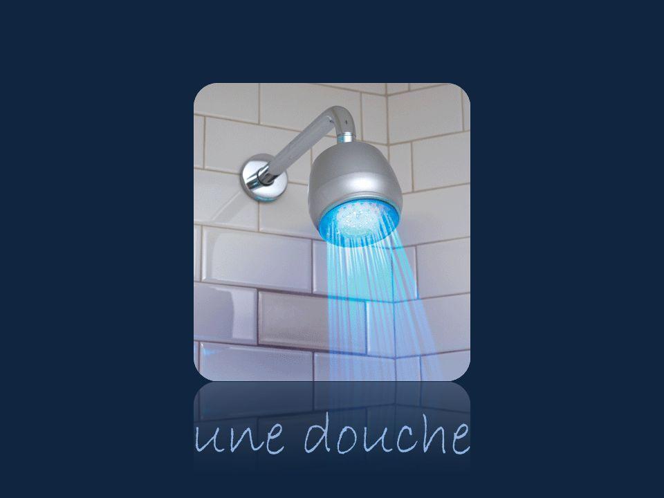 une douche