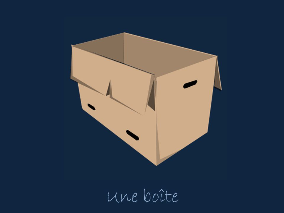 Une boîte