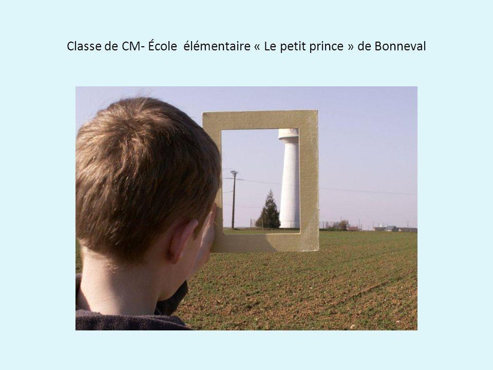 Classe de CM- École élémentaire « Le petit prince » de Bonneval