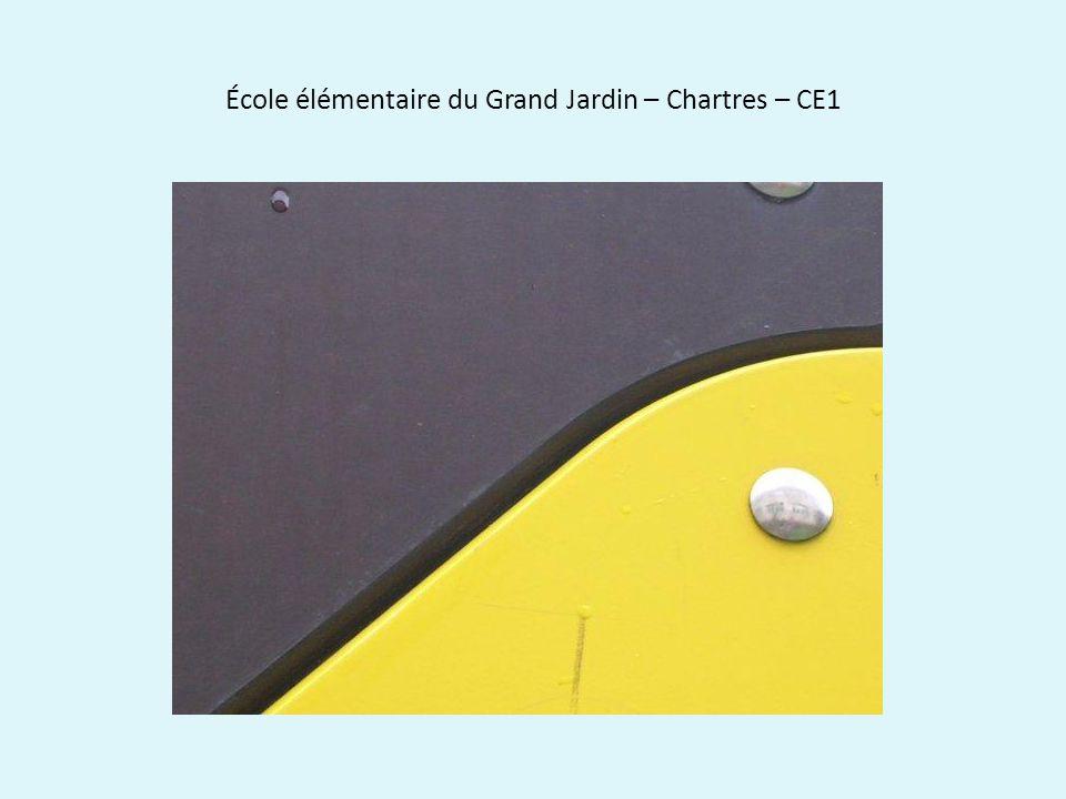 École élémentaire du Grand Jardin – Chartres – CE1