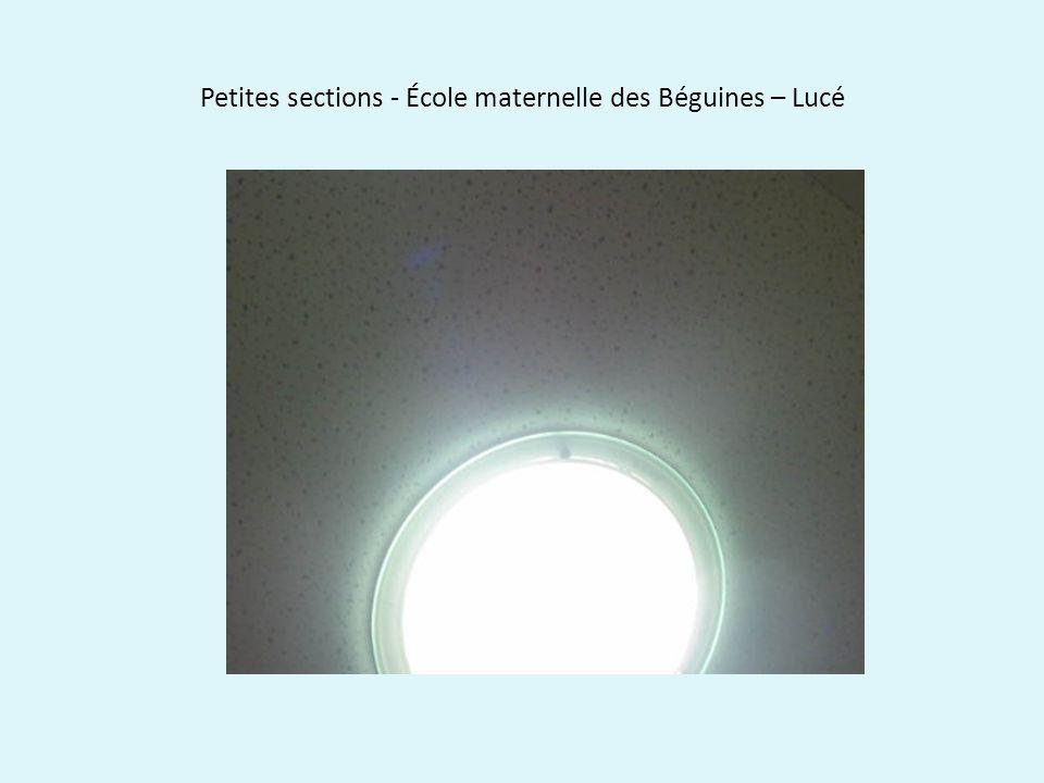3 – Regarder la couleur des lumières.
