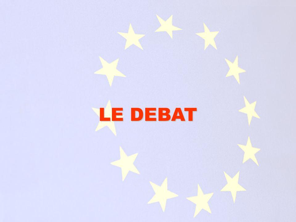 Voici quelques unes des questions posées par le débat sur la Constitution européenne et les argumentaires des tenants du « oui » et du « non ».