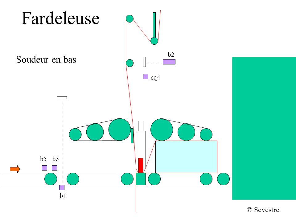 Fardeleuse Soudeur en bas b2 sq4 b1 b5b3 © Sevestre