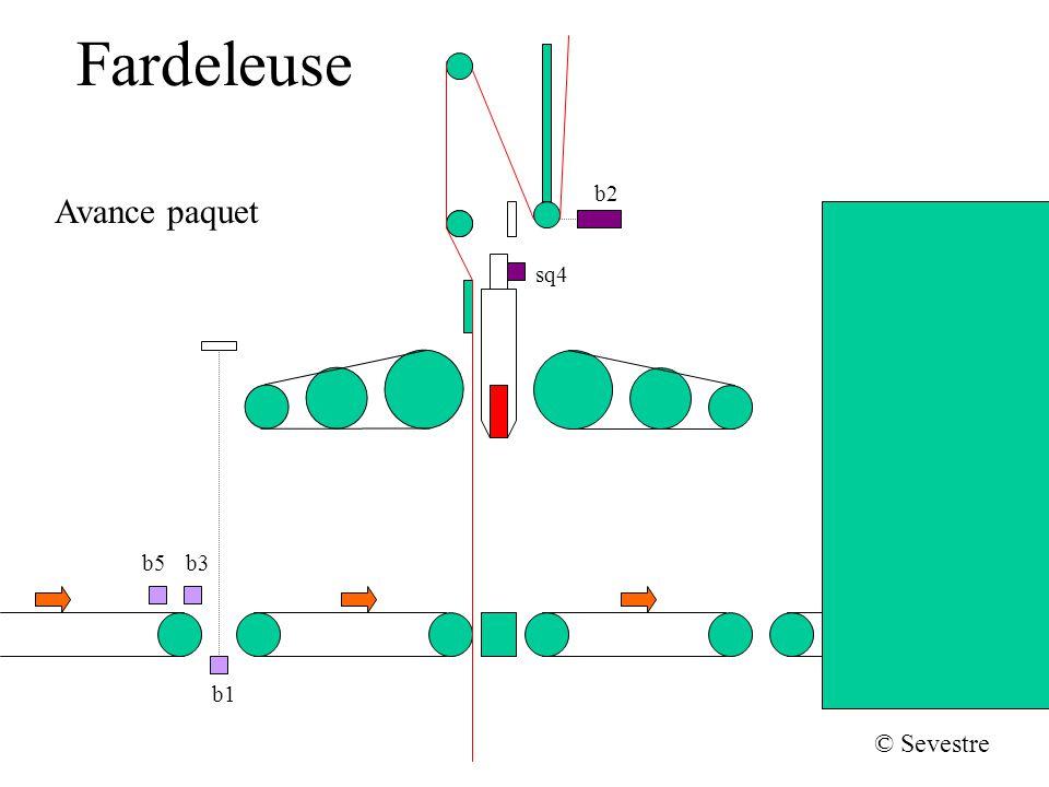 Fardeleuse b2 sq4 b1 b5b3 © Sevestre Avance paquet