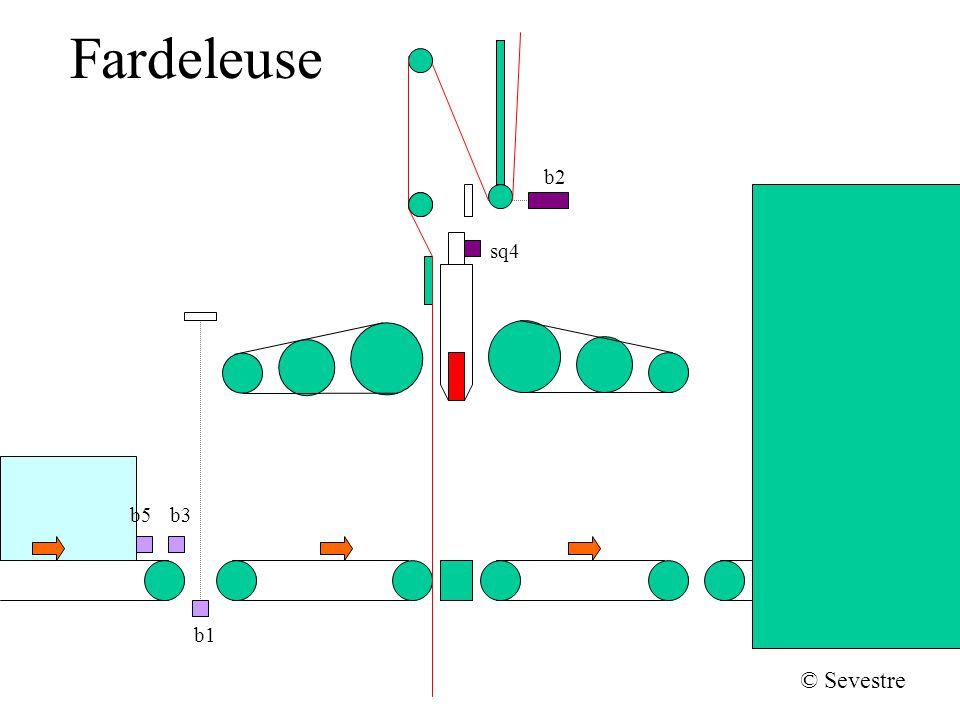 Fardeleuse Descente du soudeur b2 sq4 b1 b5b3 © Sevestre