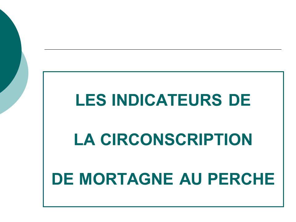 LES INDICATEURS DE LA CIRCONSCRIPTION DE MORTAGNE AU PERCHE