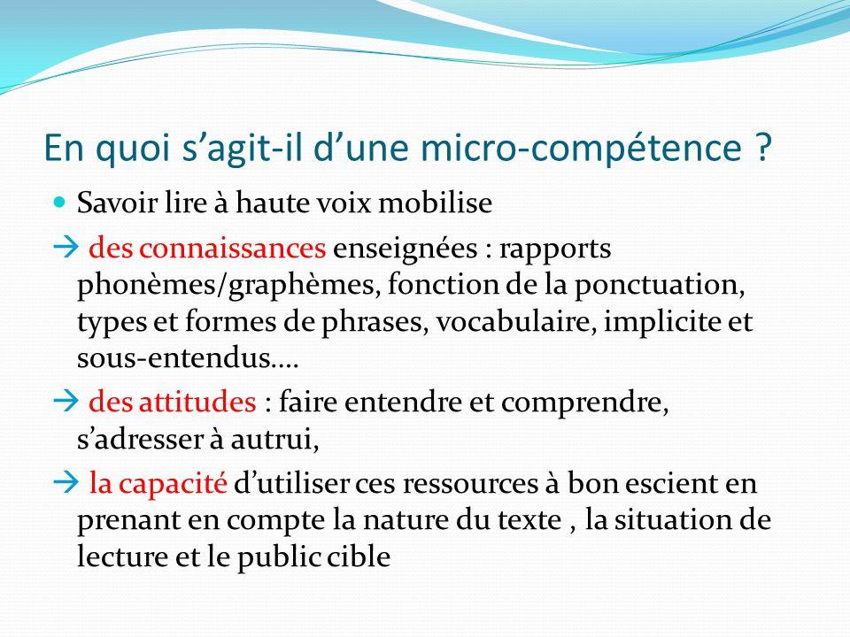 Des éléments de réflexion Quelles situations dapprentissage et dévaluation en français .