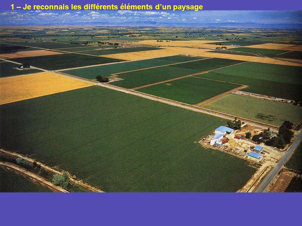 1 – Je reconnais les différents éléments dun paysage