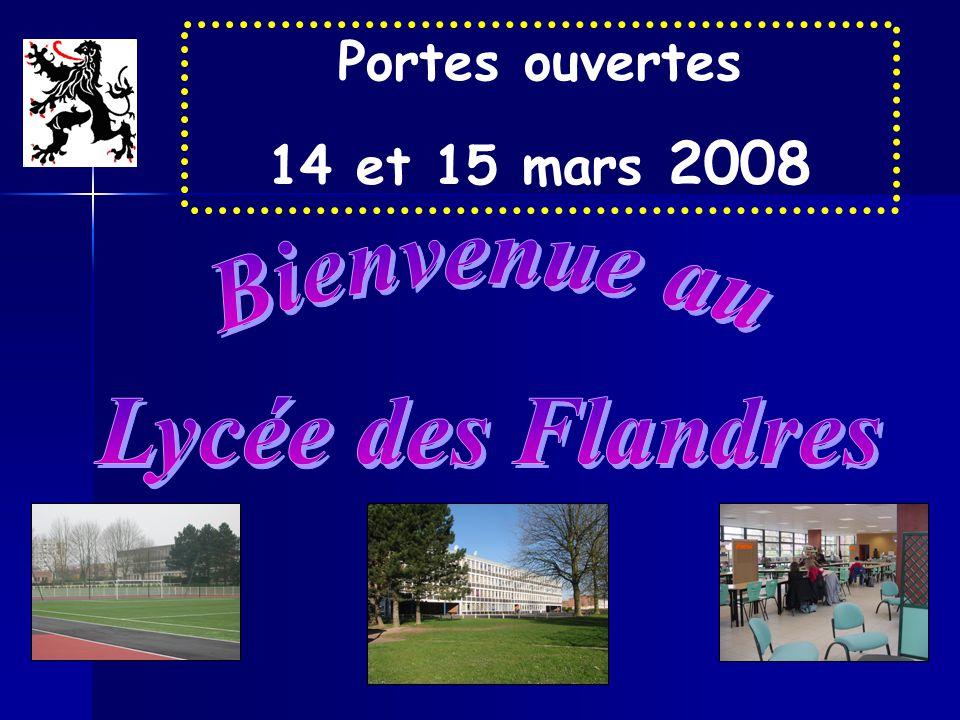 Portes ouvertes 14 et 15 mars 2008