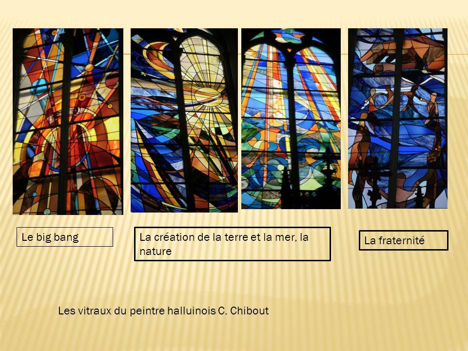 Les vitraux du peintre halluinois C.