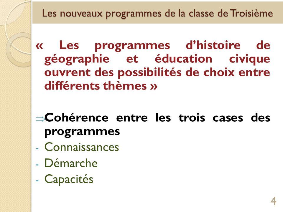 Les documents … - Le choix des documents : il est laissé à la liberté pédagogique de lenseignant sauf si un document simpose absolument.