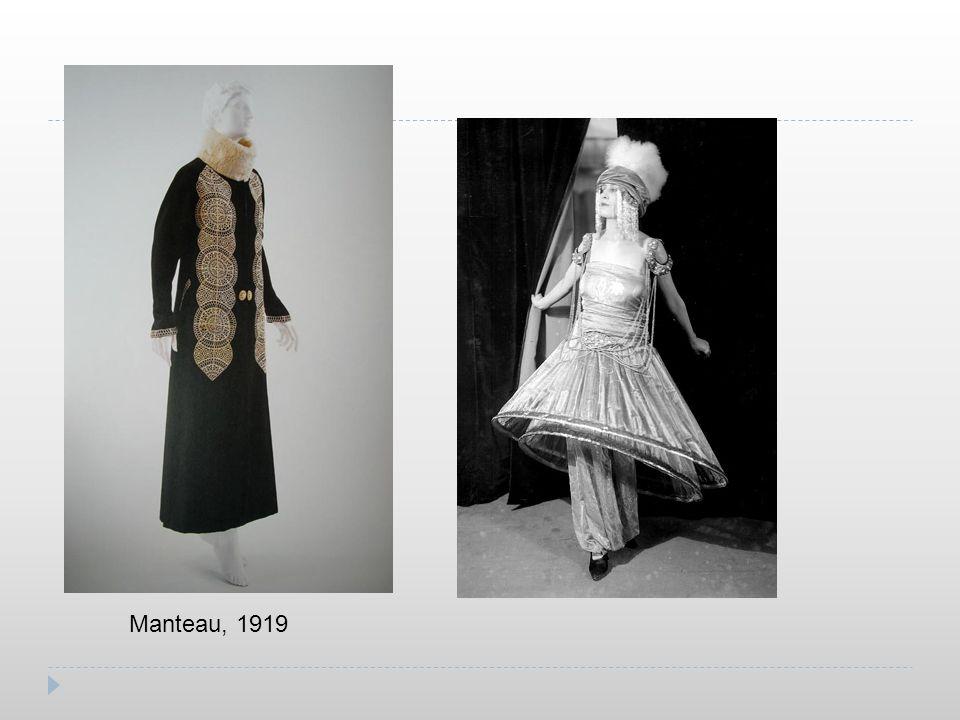 Manteau, 1919
